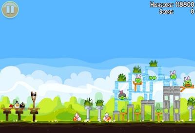 pantalla de angry birds