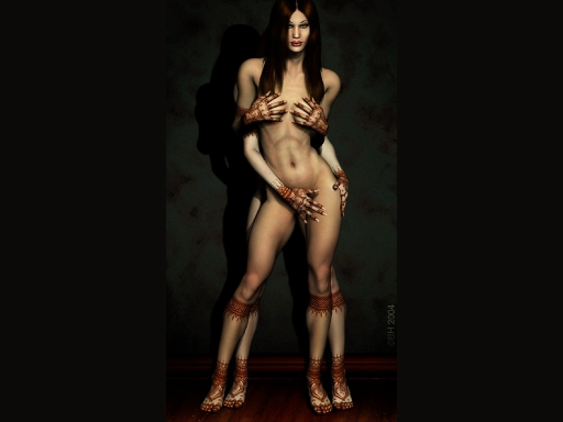 erotic bodyart very sexy girl body paint