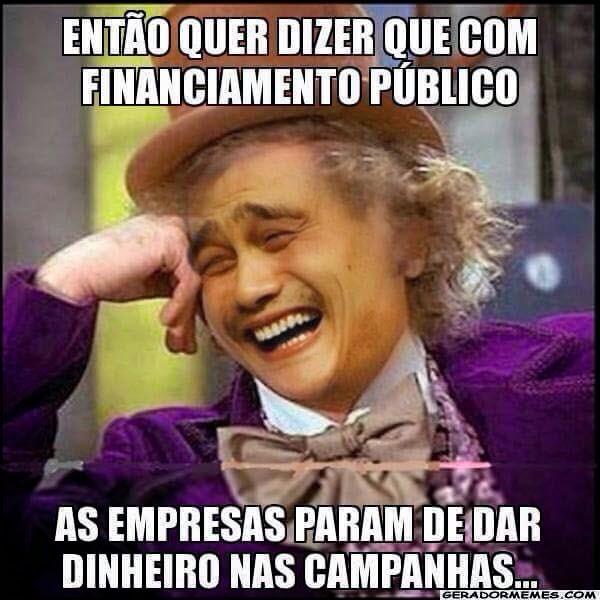 financiamento público de campanhas - empresas