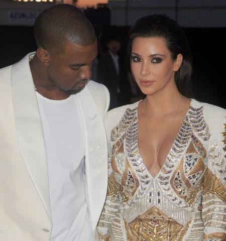 : kim kardashian with deep neck at premiere in cannes - cruel summer photo gallery