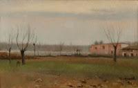 ISIDRE NONELL Paisaje. Sant Martí de Provençals 1896