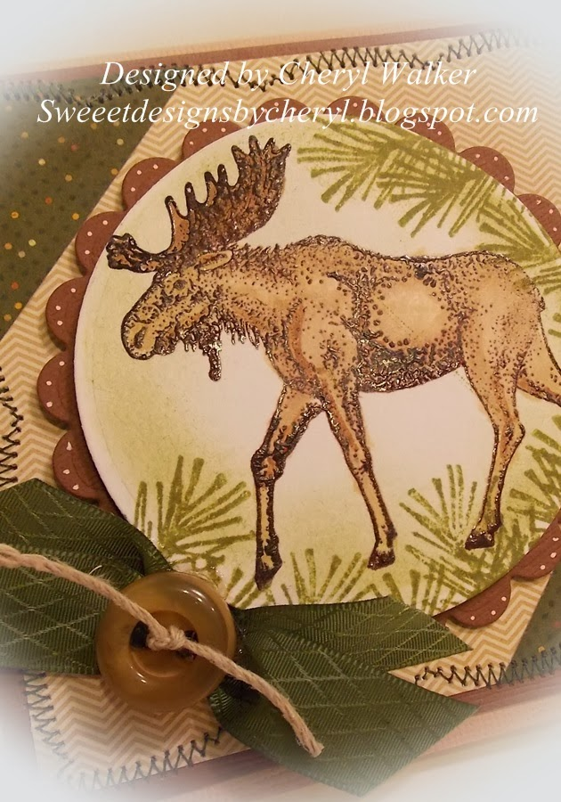how to cut up a moose