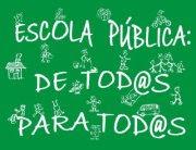 NON AOS RECORTES NA ESCOLA PÚBLICA!