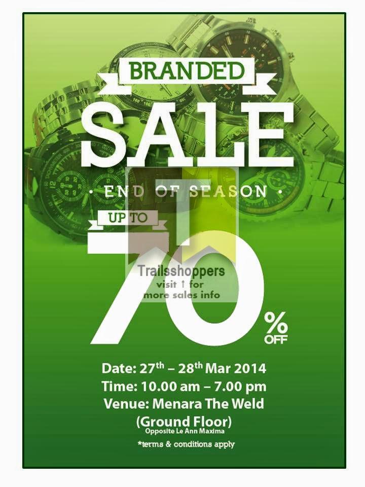 End of Season Branded Sale Watches Malaysia Kuala Lumpur