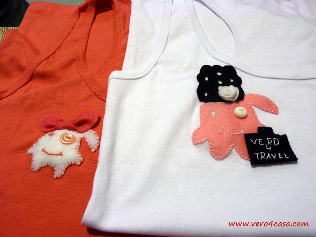 camisetas originales fieltro