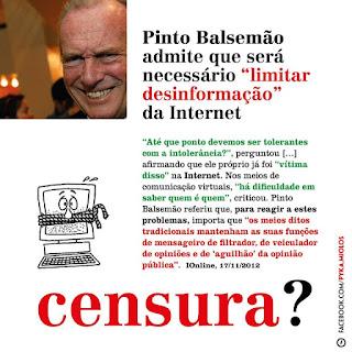 censura pinto balsemão opressão pide