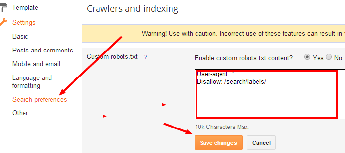 Meta Description Error in Webmaster tool