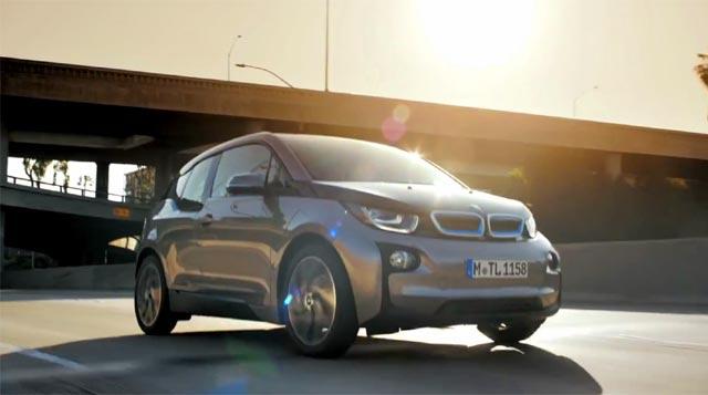 El BMW i3 en acción