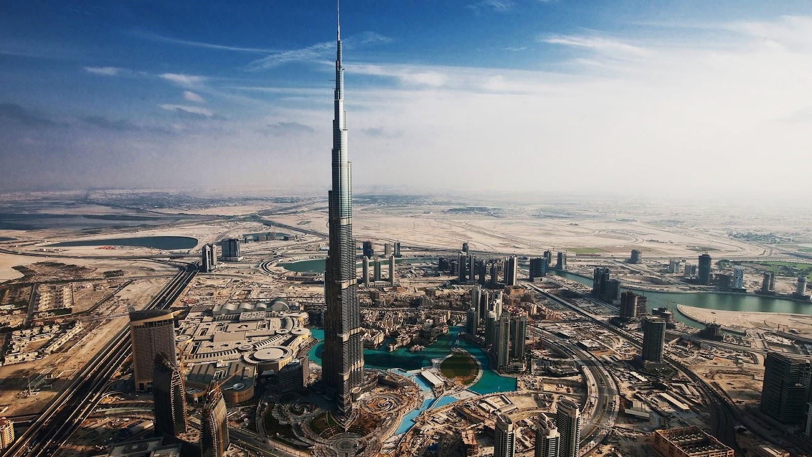 World visits burj khalifa world tallest tower inside for Best at dubai