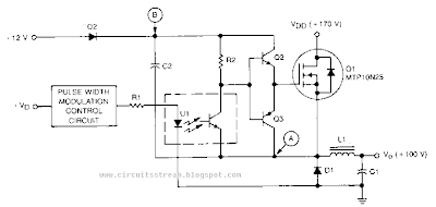 build a high voltage bucking regulator wiring diagram schematic high voltage bucking regulator circuit diagram high