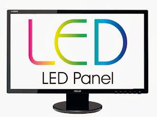 Jenis Monitor Komputer, Macam-macam Monitor, Monitor Komputer, Monitor LED