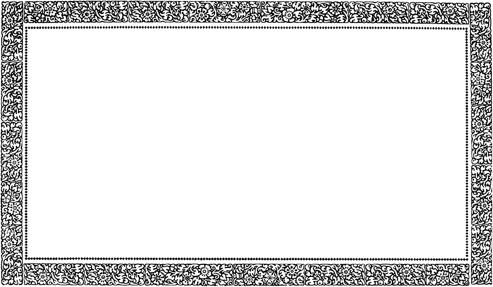 free vintage border templates .