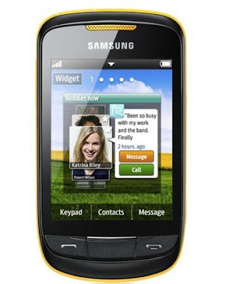 new Samsung S3850 Corby II Mobile Phone Review 2011