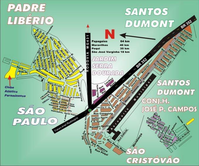 Santos Dumont - Pará de Minas