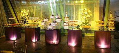 Mesas De Cristal Decoradas