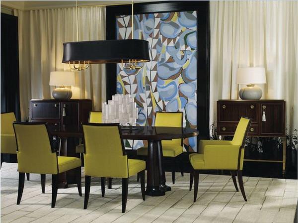 Sala de jantar moderna 4