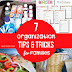 7 Organization Tips & Tricks For Families