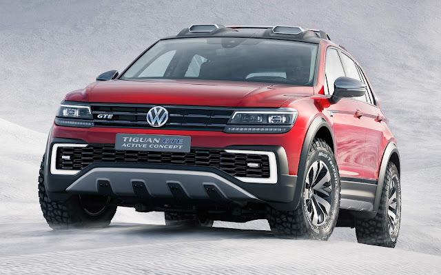 VW Tiguan GTE 2017