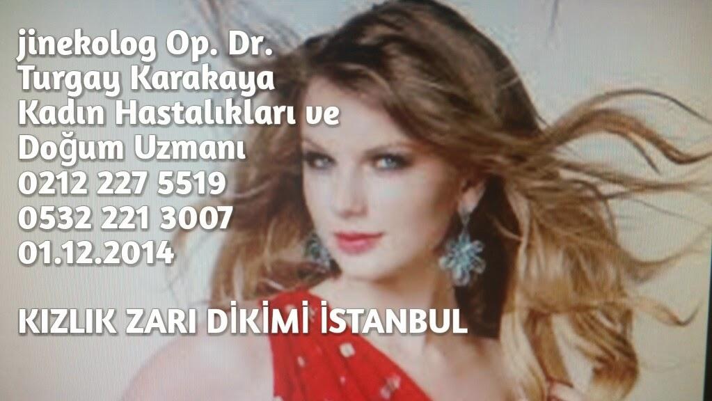Kızlık zarı dikimi İstanbul
