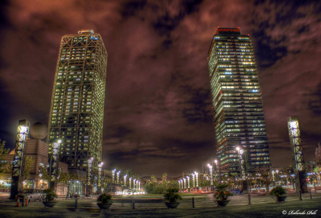Diario de visitas ruta boom ol mpico for Noche hotel barcelona