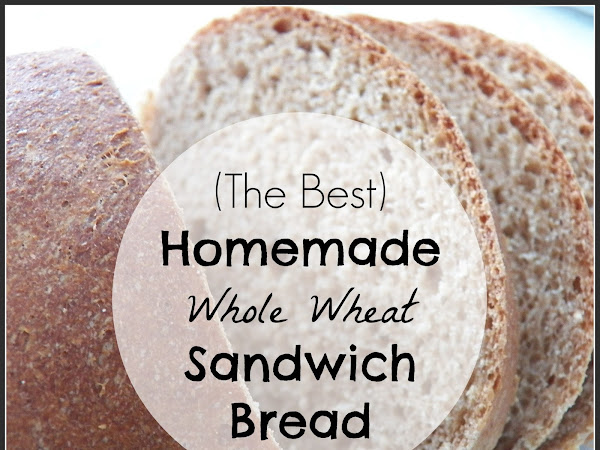 (The Best) Homemade Whole Wheat Sandwich Bread Recipe