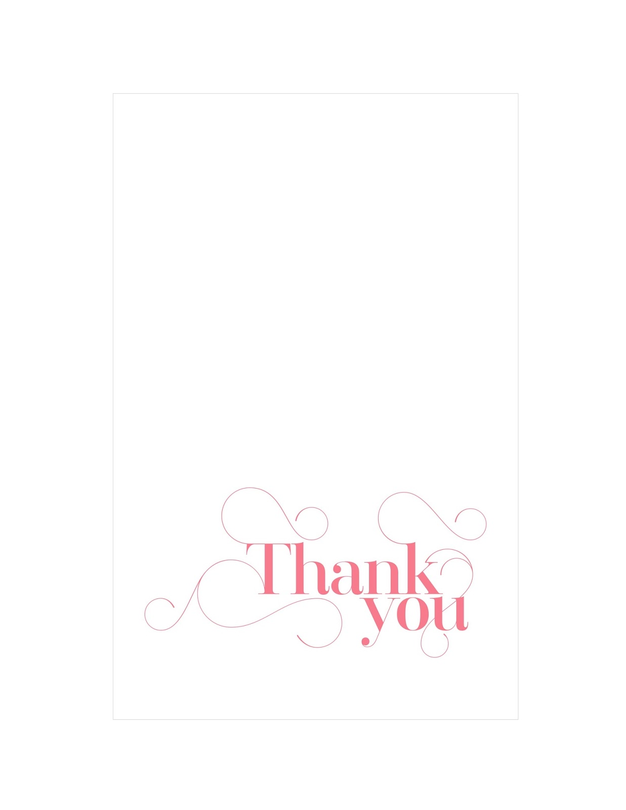 How to write the perfect thank you note Plus free printable thank – Printable Thank You Note