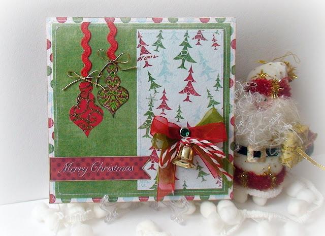 Как сделать самому рождественскую открытку