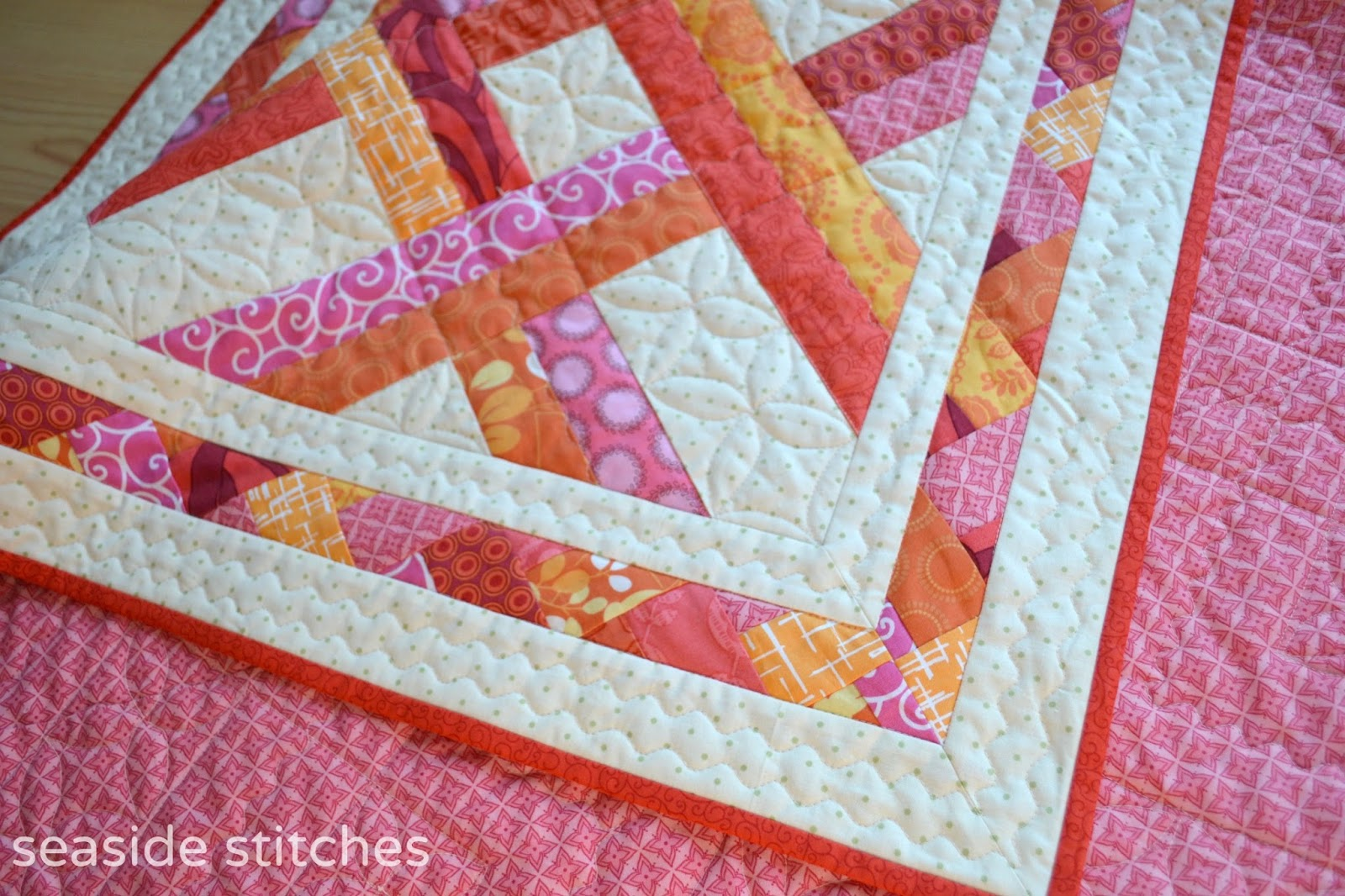 Seaside Stitches: Woven Sunset : seaside quilt - Adamdwight.com