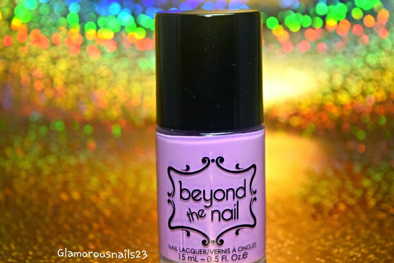 Beyond The Nail Spring Purple