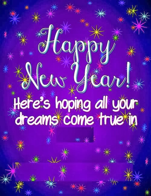 Top Happy New Year Sms Wishes With Clipart 2015