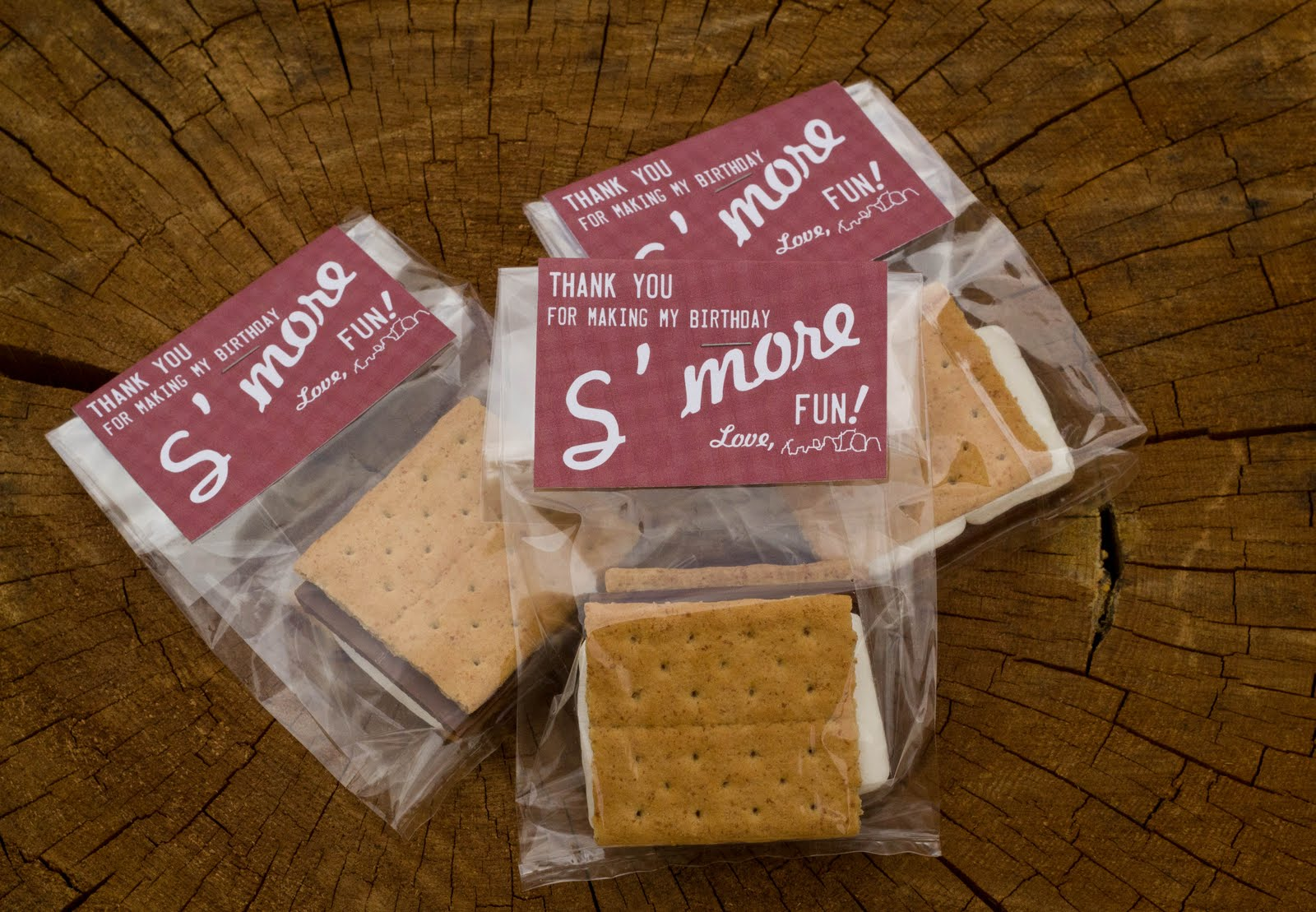 s'more favors