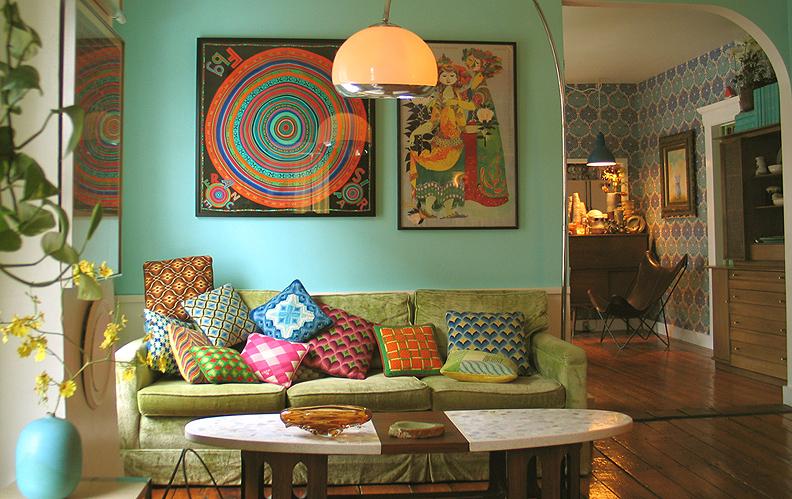 Decoracin de Salas Vintage Ideas para decorar disear y mejorar