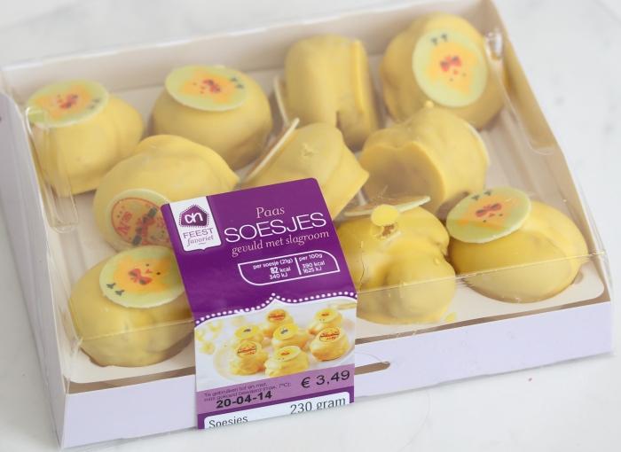 Albert Heijn paassoesjes | Easter cream puffs