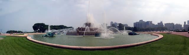 Buckingham Fountain Panorama