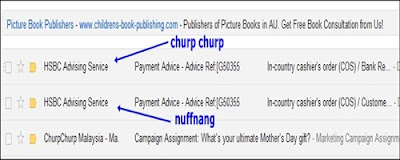 Payment Nuffnang dan Churp Churp