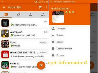 BBM Mod Tema Orange 2.9.0 APK + CoverUI
