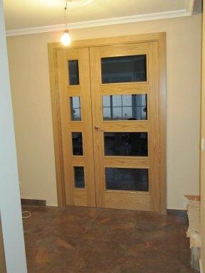 Instalaci n de puertas de comunidad disarycor - Instalacion de puertas de madera ...
