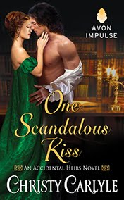 USA Today bestseller! One Scandalous Kiss is available now!