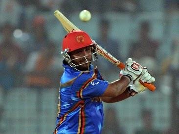 Mohammad Shahzad's 68 runs