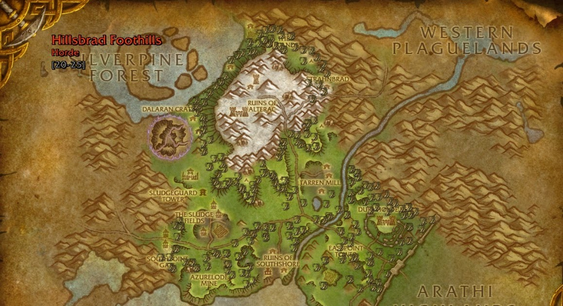 Wow Farmer: Briarthorn - Best Place To Farm - Wow Herbalism ...