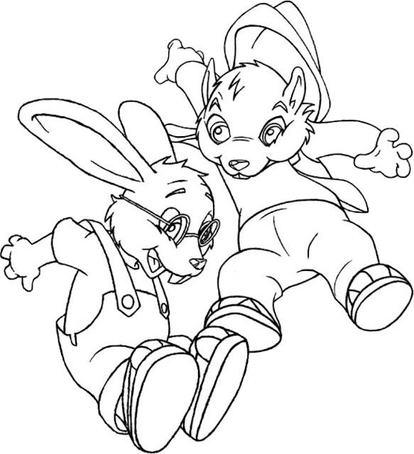 Desenho Forest Friend para colorir