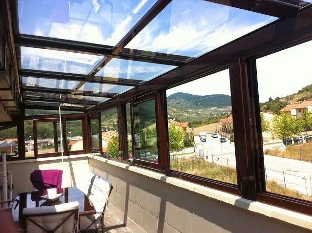 Fotos e imagenes de techos de vidrio porche de techo de vidrio fijo cerramientos y cubiertas - Techos de vidrio para terrazas ...