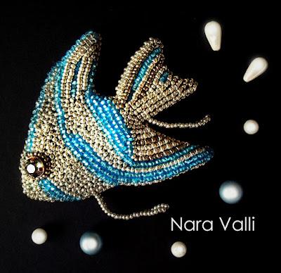 Рыбка бисер вышивка бисером