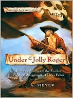 Cover of Under the Jolly Roger by L. A. Meyer
