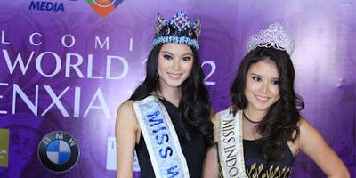 Profil dan Biodata Lengkap Vania Larissa Miss Indonesia 2013