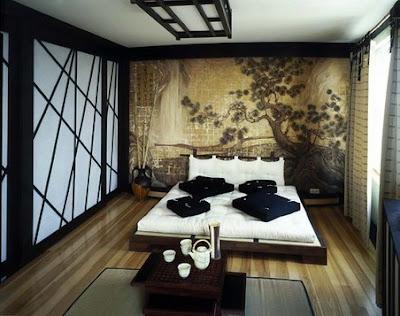 quarto decoração japonesa