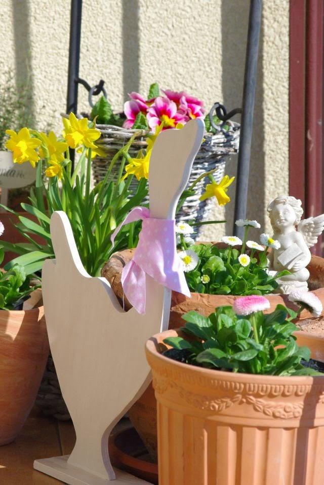 balkon wiosną