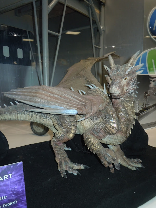 Dragonheart Draco movie maquette