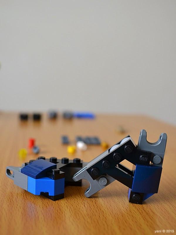 lego ninjago electromech - leg a frames