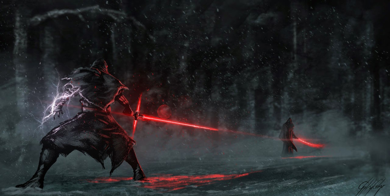 Star Wars 7 Sith vs Jedi
